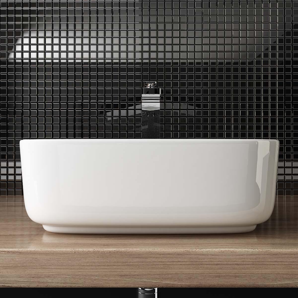 design keramik aufsatzwaschbecken handwaschbecken waschschale g ste wc top a108 ebay. Black Bedroom Furniture Sets. Home Design Ideas