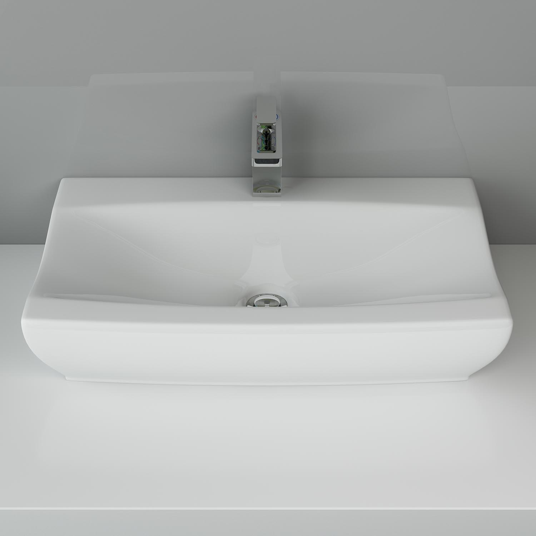 design keramik waschtisch waschbecken waschplatz badezimmer gÄste wc
