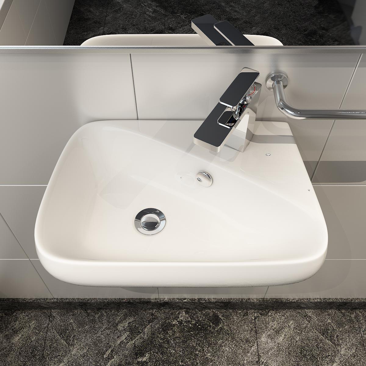 keramik aufsatzbecken waschbecken & -tisch waschschale wandmontage