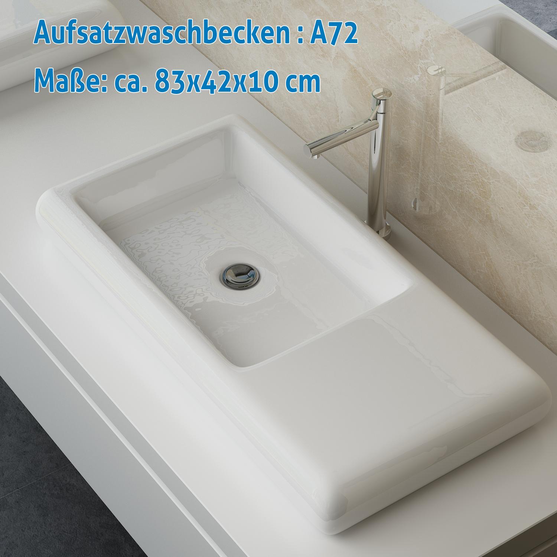design bad keramik waschbecken tisch waschplatz. Black Bedroom Furniture Sets. Home Design Ideas